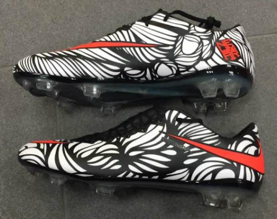 wholesale dealer e2d42 d8699 Botas-De-Futbol-Nike-Neymar-Jr-Ousadia-Alegria-Hypervenomx-Proximo-IC-Blanco -Negro-Rojo 03