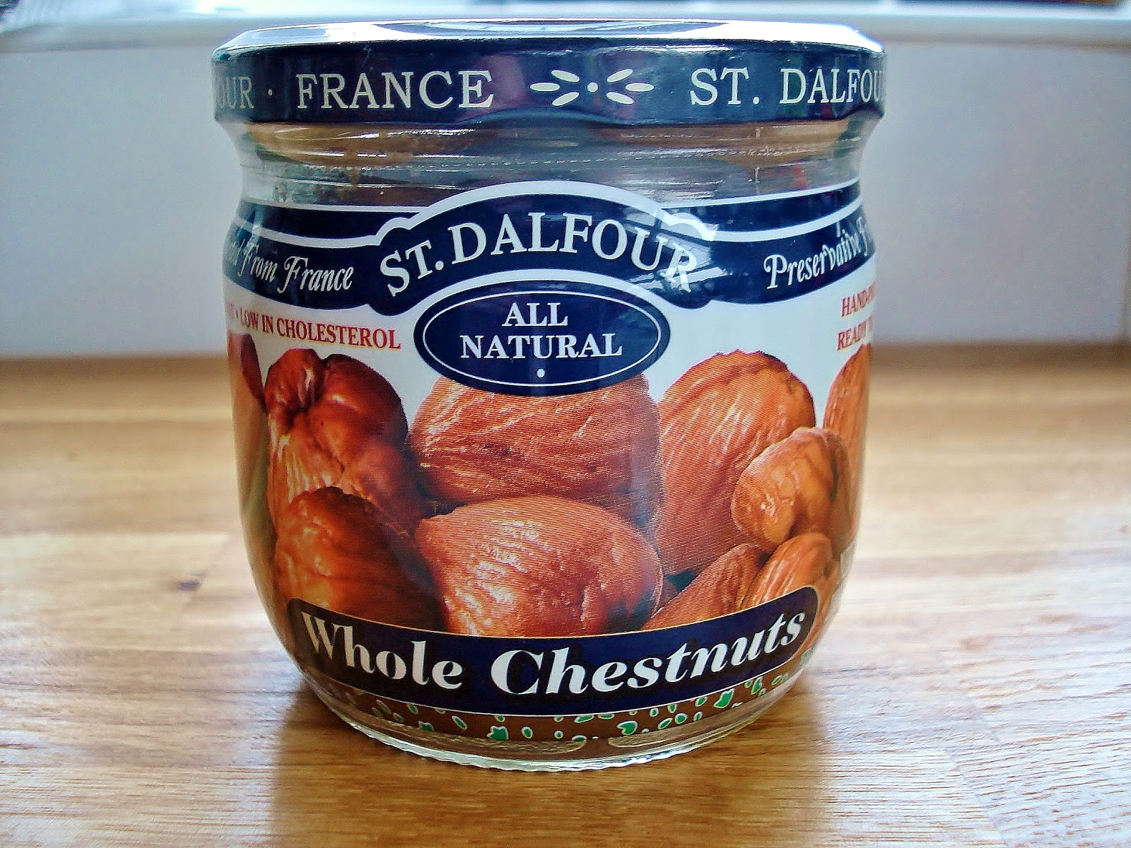 Jar of St Dalfour Chestnuts