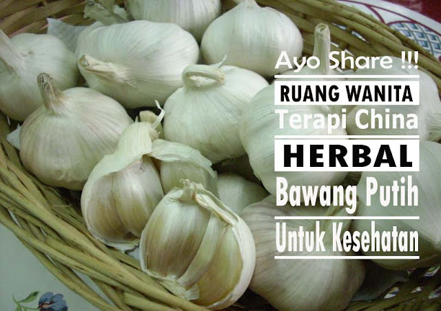 Share semoga Bermanfaat!!! Cara Baru Terapi Kesehatan Menggunakan Bawang Putih