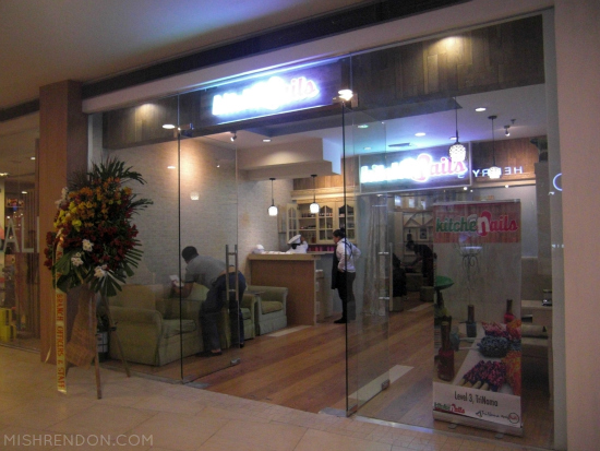 Kitchenails Trinoma opening + Chef Specials Hand Spa