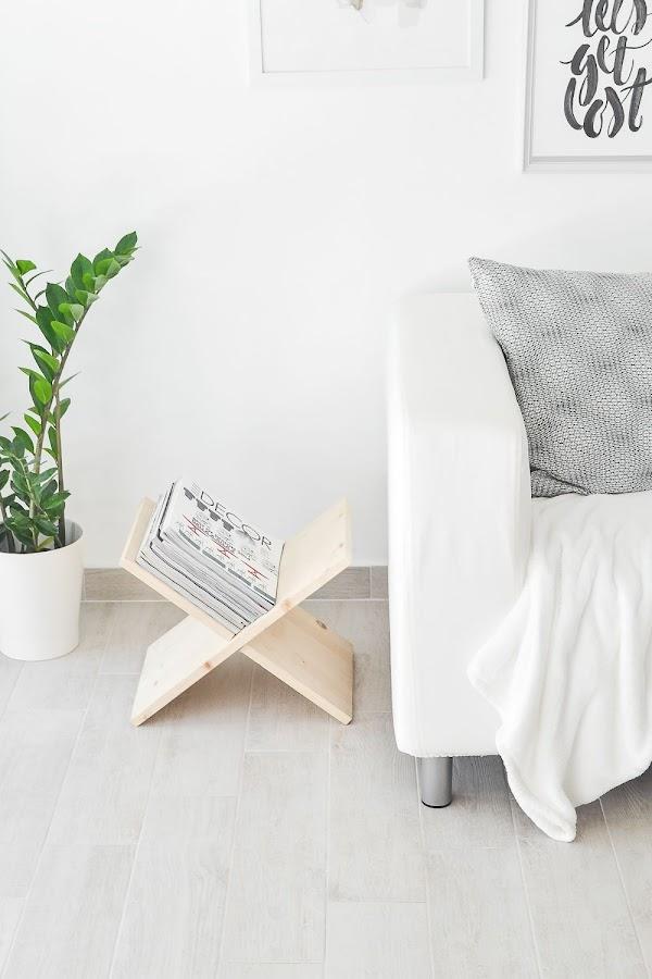 Revistero diy para decorar tu hogar