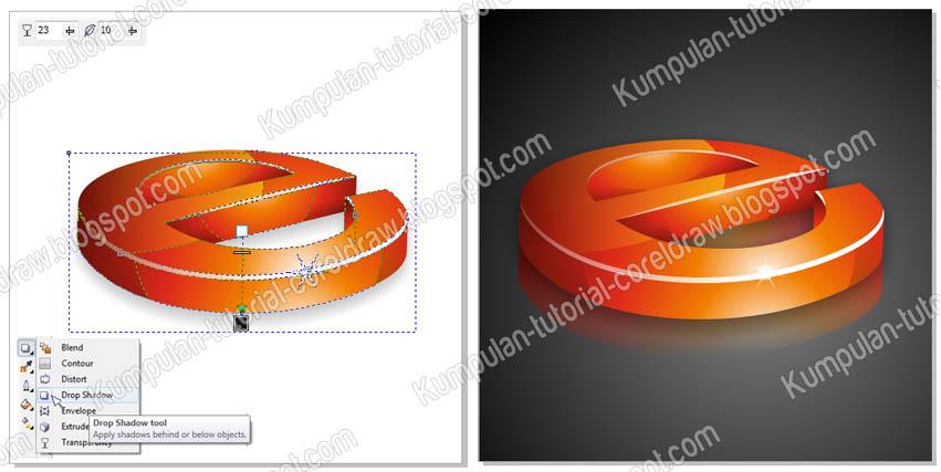 Cara Membuat Logo 3D dengan CorelDraw X6   Kumpulan
