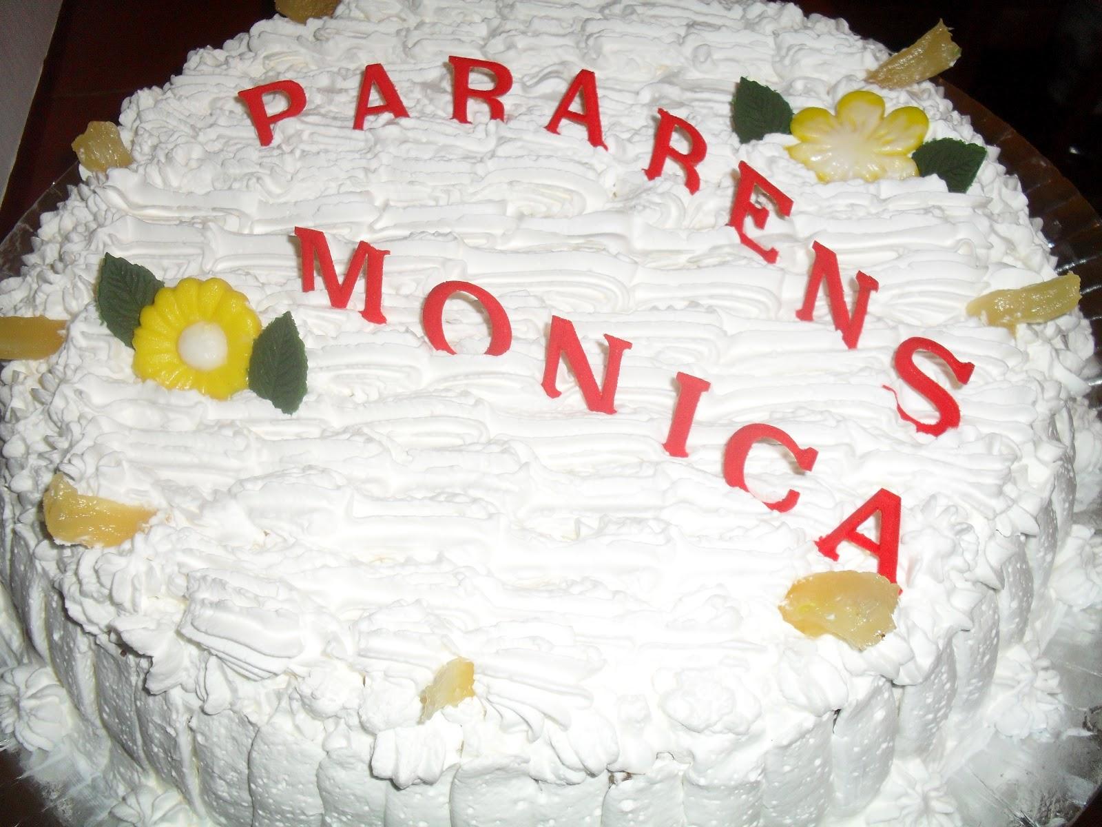 Mesa De Feliz Aniversario Bolo Para Sobrinha Imagens: Lê E Lá Doces Delícias: Parabéns Monica
