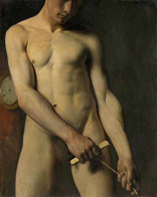 Pascal Dagnan-Bouveret: Studio di nudo maschile