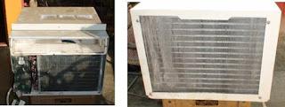 """""""Evaporador y condensador aire acondicionado de ventana"""""""