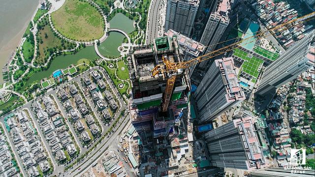 Hình ảnh tòa tháp cao 81 tầng tại Sài Gòn