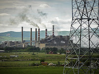 Coal plants in Kosovo (Photo Credit: Thomas Trutschel/Photothek/GettyImages) Click to Enlarge.