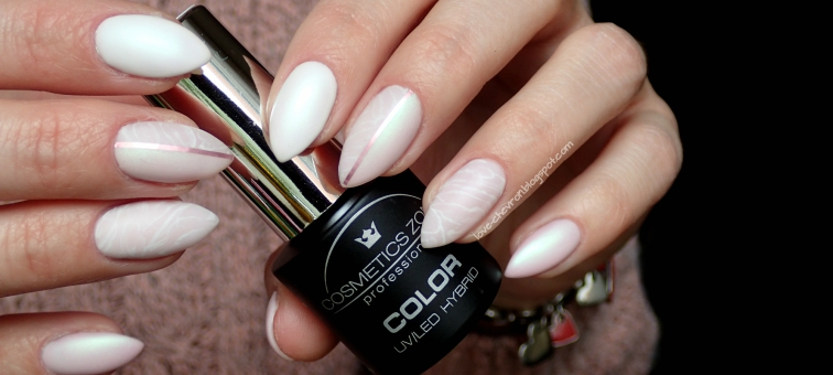 Love Chevron Manicure Hybrydowy Cosmetics Zone Pst2 Bright Lilac