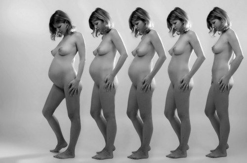 Nude pregnant women photo progression for that