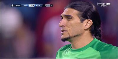 UEFA-8 : Atletico Madrid 1 vs 0 Barcelona 09-04-2014