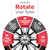 How to rotate Tyres