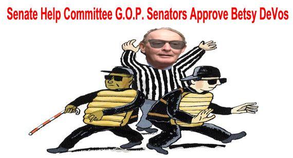 Big Education Ape: HELP Committee Sends DeVos Confirmation ...
