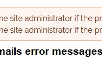 How to resolve Drupal unable to send email - contact the site administrator?
