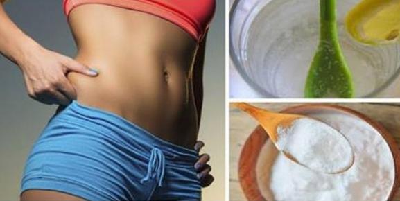 bicarbonato para eliminar grasa del abdomen