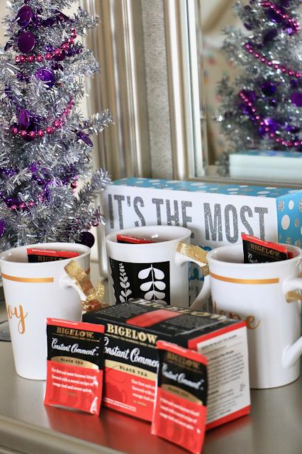DIY Tea Christmas Gift #ad #TeaProudly