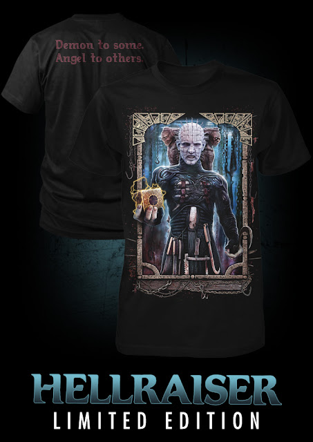 Fright Rags Hellraiser Limited Edition shirt is On sale NOW