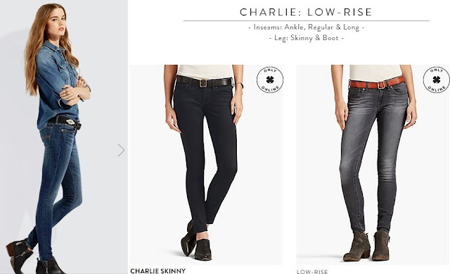 Charlie Fit Low-Rise