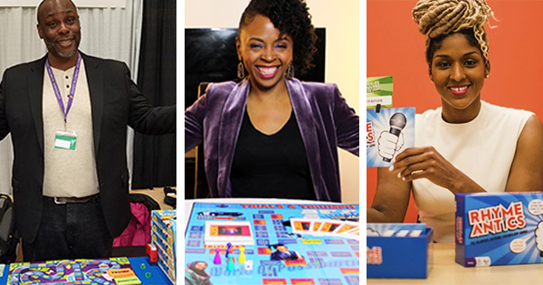 Black entrepreneurs and inventors who have created board games