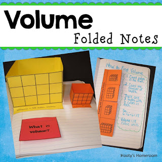 https://www.teacherspayteachers.com/Product/Volume-Folded-Note-Taking-for-Interactive-Journals-262404