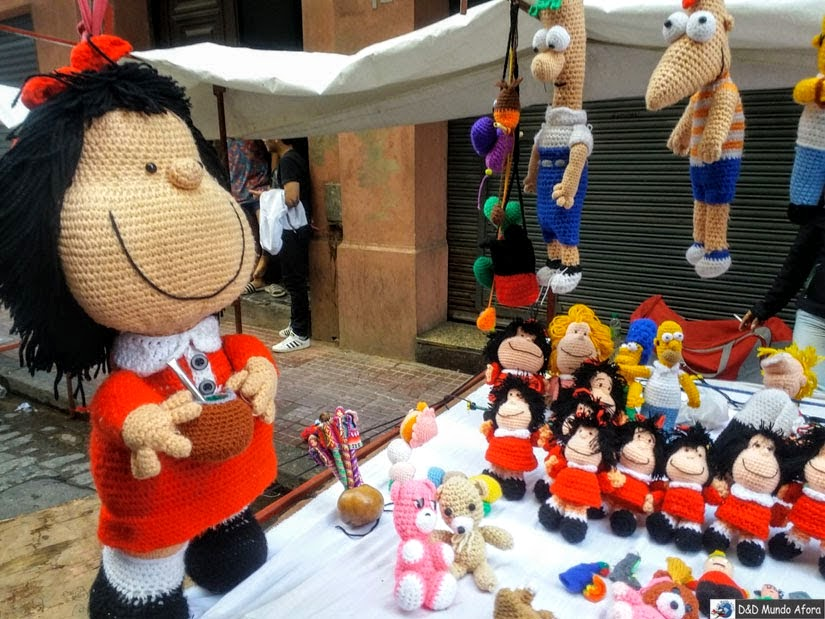 Buenos Aires - conhecendo a Mafalda
