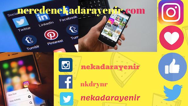 nerede ne kadara yenir sosyal medya hesaplari