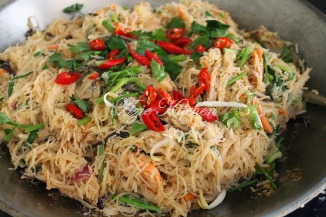 Singapore Mee Hoon Resepi Terbaik Chef Dinar Matahari Azie Kitchen