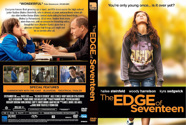 The Edge Of Seventeen DVD Cover