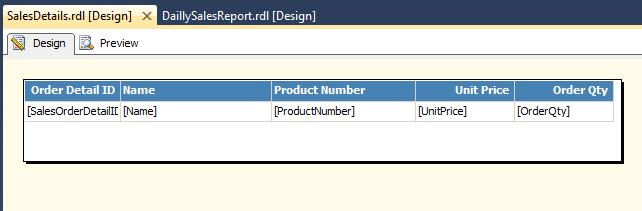 Sub Report