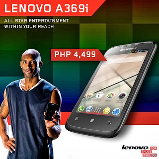 Lenovo A369i Specs, Price in the Philippines