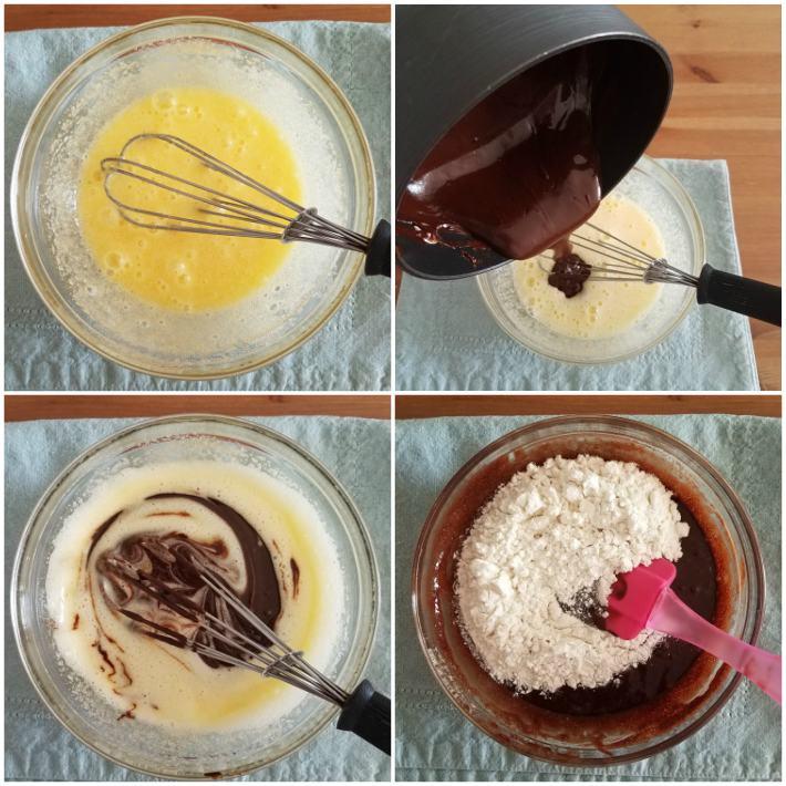 Mezcla para preparar brownies caseros de chocolate