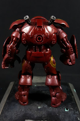 Marvel Universe Iron Man 2 Hulkbuster Rear View
