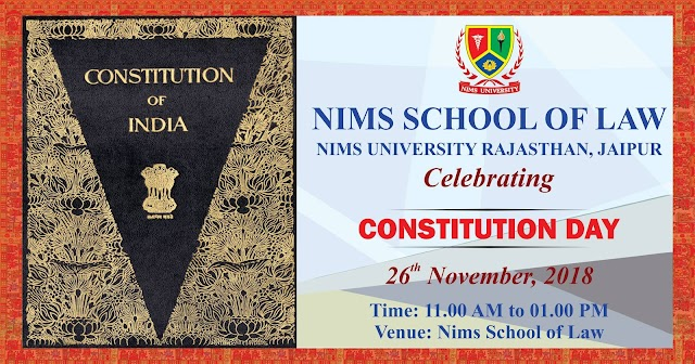 Nims School of Law celebrated Constitution Day on 26th November