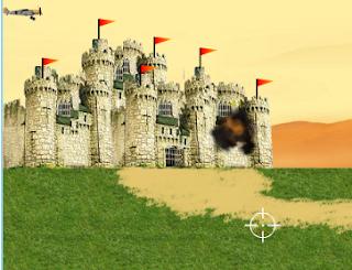 لعبة حماية القلعة العملاقة