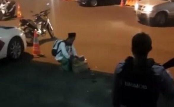 Ustaz Ini Protes Keras kala Melihat Santri Diperlakukan Tak Wajar oleh Oknum Polisi