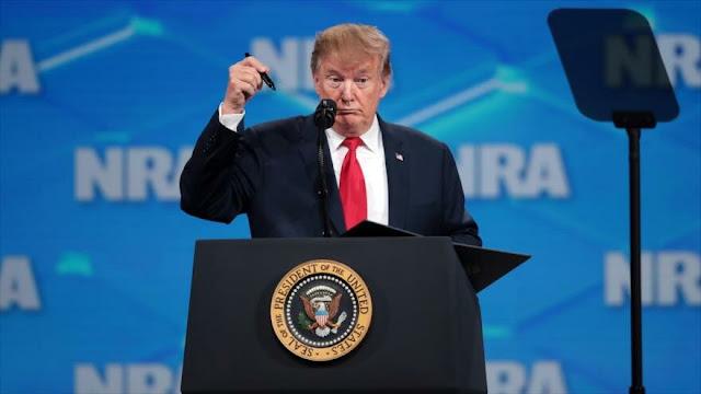 Trump anuncia que retirará a EEUU del tratado sobre venta de armas