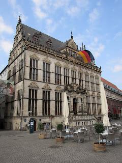 Schütting; Camara de comercio; Marktplatz; Bremen; Brême; Alemania; Deutschland; Germany; Allemagne