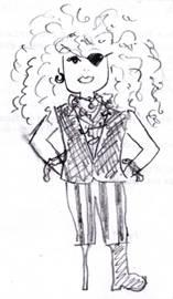 eCore professor Antoinette Miller (The Wacky Professor)