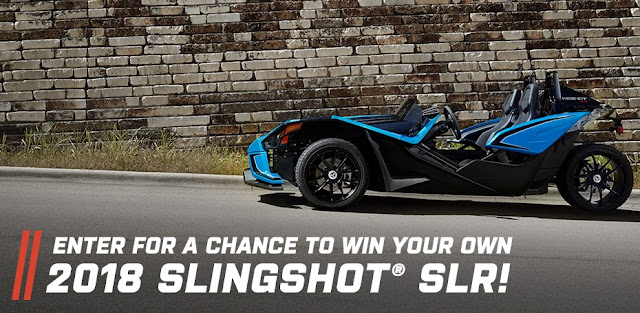 POLARIS SLINGSHOT SWEEPSTAKES GIVEAWAY