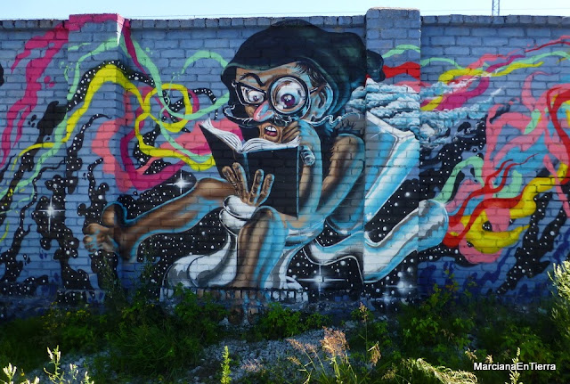 Graffiti en Kalamaja, Tallin