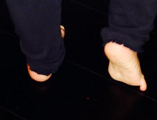 Vive les petits pieds nus!