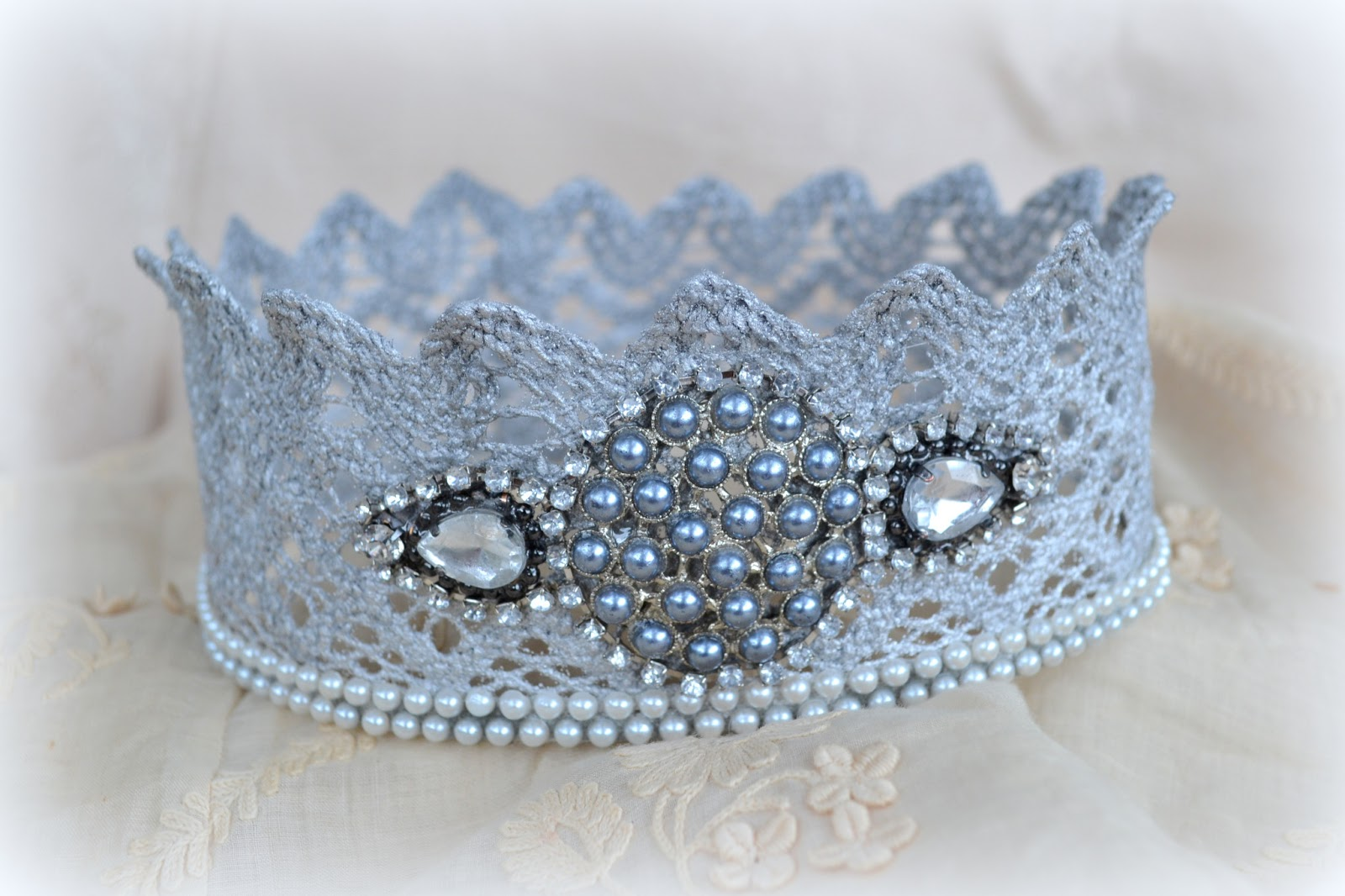 The Easiest Quickest Way To Make Lace Crowns Tutorial