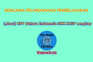 (.docs) RPP Bahasa Indonesia SMK KTSP Lengkap