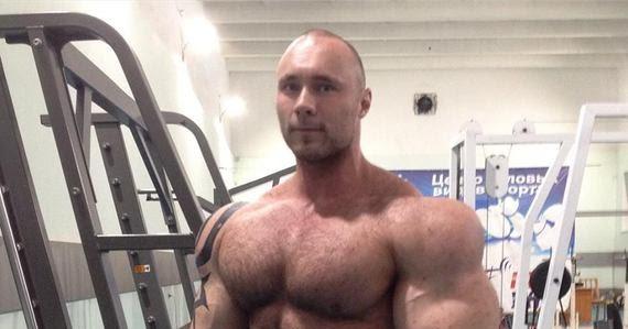 Russian Muscle Beast Nikita Tkachuk   JACKED FOREVER