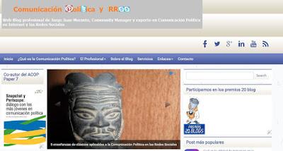 Blog Comunicación Política y Redes Sociales