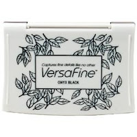 Versafine Onyx Black ink (EH)