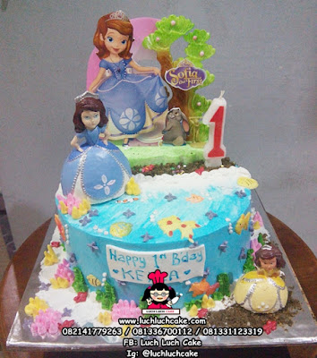 Birthday Cake Princess Sofia The First