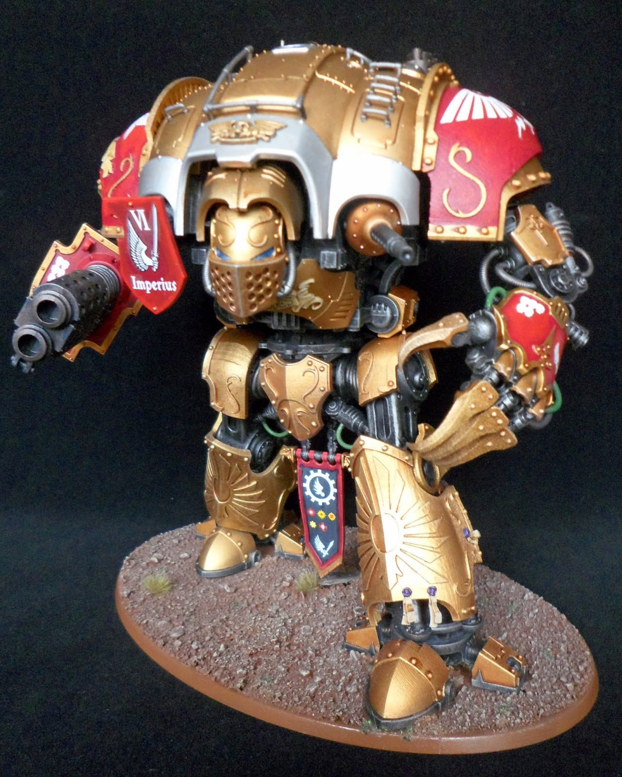 Warhammer 40k imperial Knight Thunder Strike Gauntlet