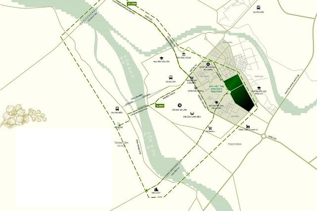 Vị trí đắc địa của dự án Hope Residence Phúc Đồng Long Biên