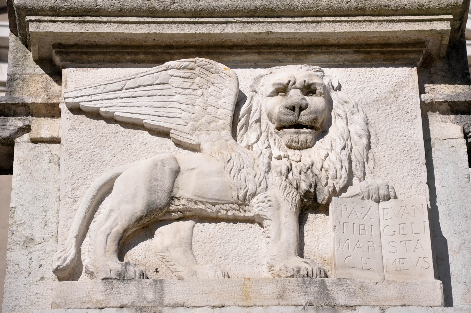 The Venetian Lion, Feltre, Veneto, Italy
