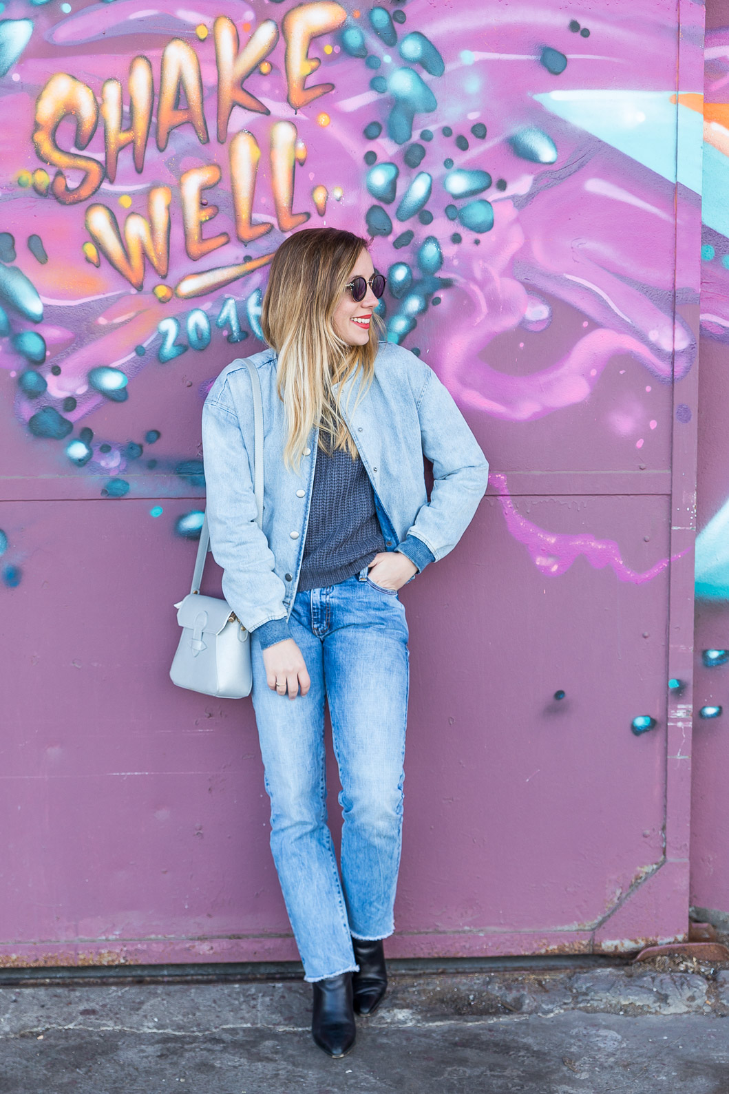 blogueuse mode total look jean